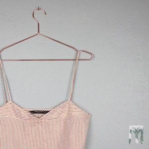 Zara Trafaluc Collection Sparkle Cropped Camisole